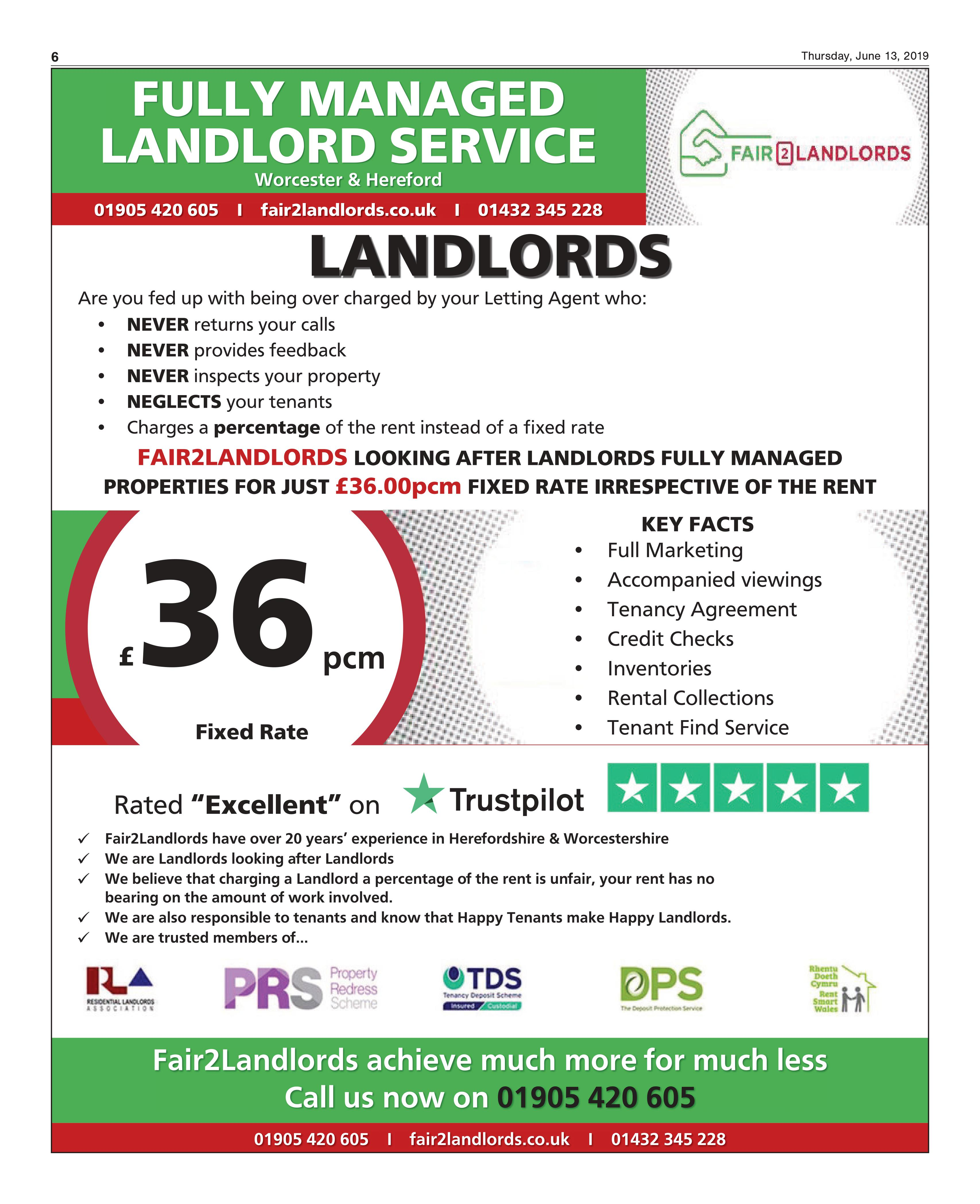 Fully Managed Landlord Service